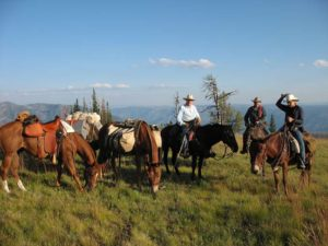 Summer Backcountry Camping Trips & Horseback Riding