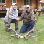 Elk Matt took with guide Randy