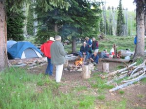 Idaho camping trips and trail rides
