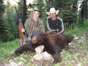 Spring bear hunting trips in Idaho