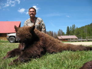 Idaho bear hunting trips by Silver Spur Outfitters & Lodge