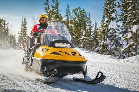 Snowmobiling in Idaho