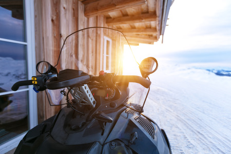 snowmobile trips in Idaho with Silver Spur